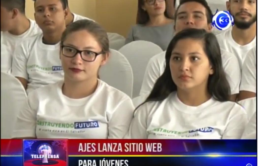 AJES lanzan sitio web para jóvenes