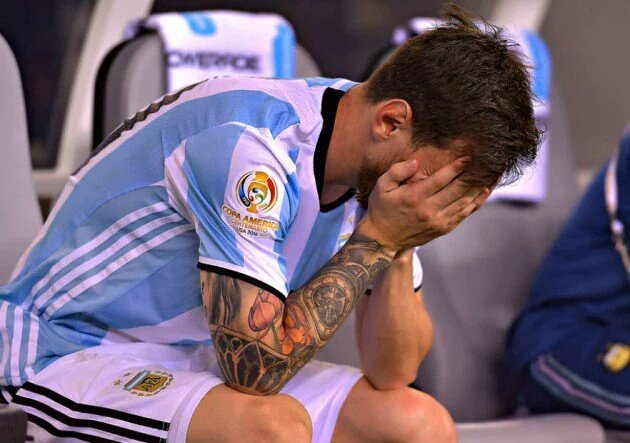"""Vi a Messi llorando como un nene que perdió a la madre"""