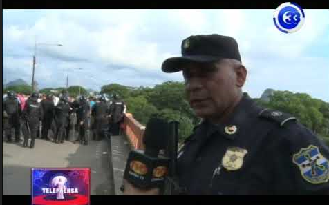 Pelotonoes de la UMO refuerzan frontera el amatillo por migrantes hondureños