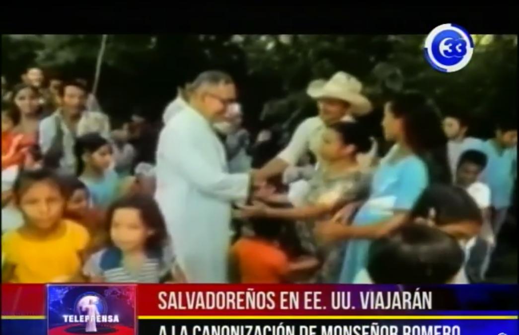 Salvadoreños en EUA viajarán a la canonización de Monseñor Romero