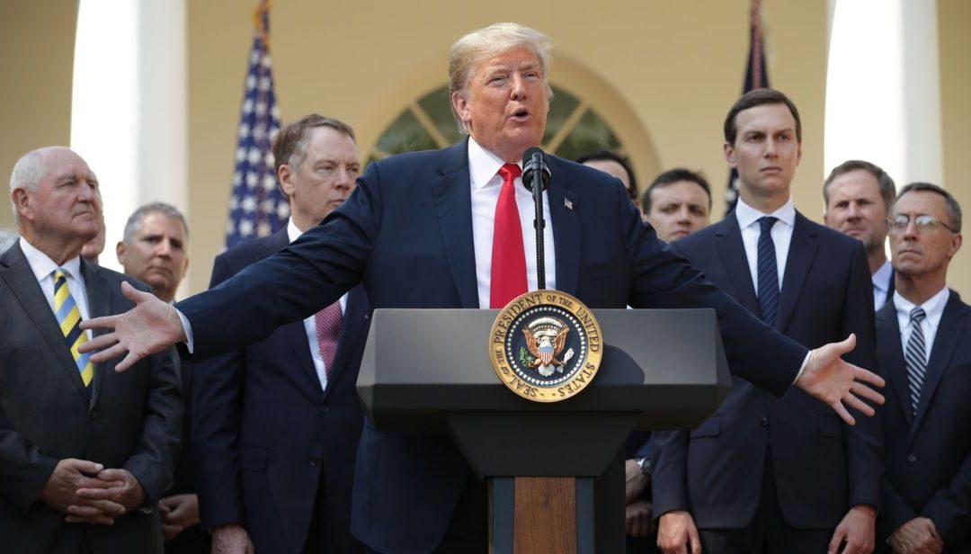 Trump acusó a Brasil de tratar injustamente a las empresas comerciales de EE.UU