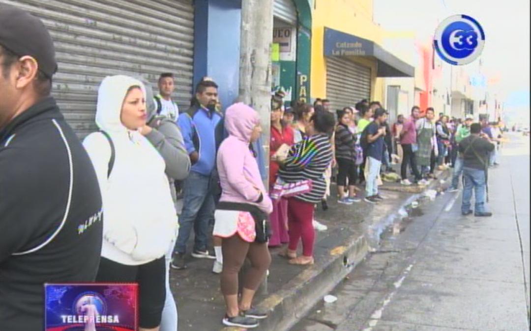 Más de 20 lesionados en disturbios en Santa Tecla