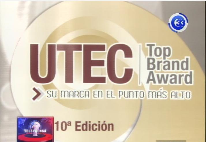 UTEC premiará a 36 marcas en los Top Brand Award