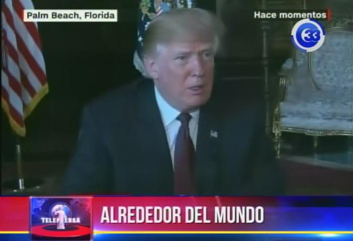 """Trump autoriza a militares a """"usar la fuerza letal"""" contra los inmigrantes que actúen con violencia"""