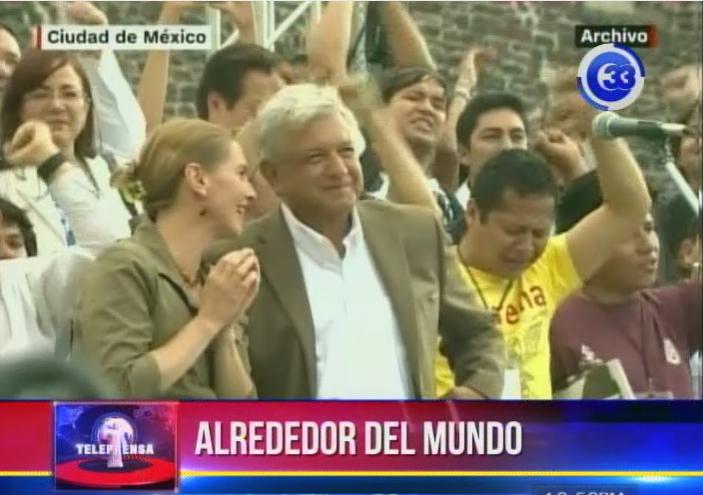 Presidente electo de México Andrés Obrador tomará posesión de su cargo este sábado