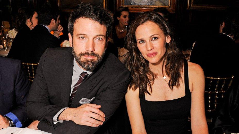 Ben Affleck, yJennifer Garner están felizmente divorciados