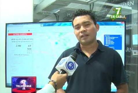 Autoridades pendientes de serie sísmica en Santa Tecla