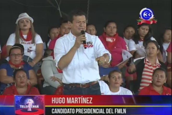 Organizaciones de mujeres apoyan a fórmula presidencial del FMLN