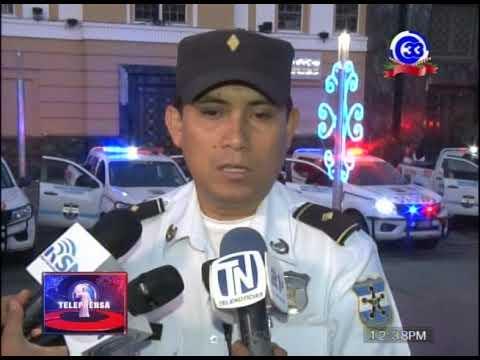 Policía realiza nuevo despliegue en la capital.