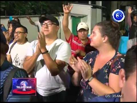 Salvadoreños que residen en el exterior respaldan candidatura de GANA