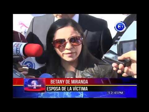 Familiares de Dagoberto Miranda exigen justicia