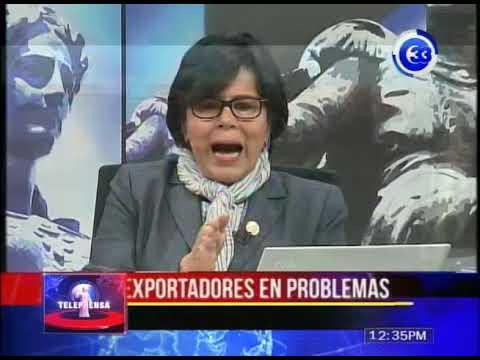 Exportadores en problemas por cancelación del TLC