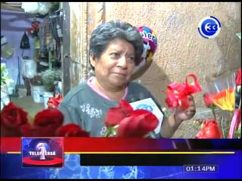 Vendedores del mercado san miguelito listos este 14 de febrero
