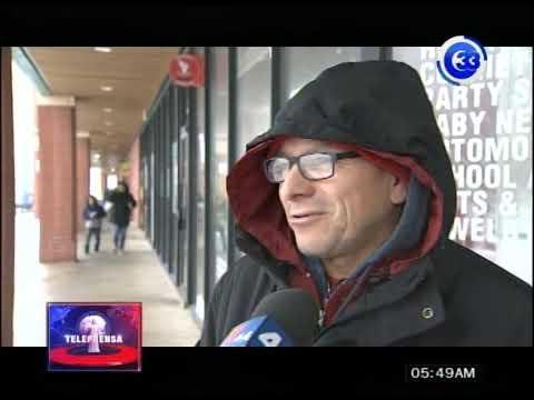 Tormenta invernal afecta empleados