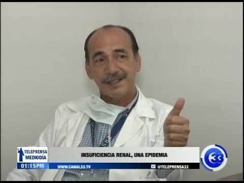 Insuficiencia renal, una epidemia
