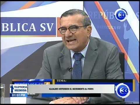 Alcaldes defienden el incremento al FODES