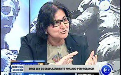 Urge ley de desplazamiento forzado por violencia