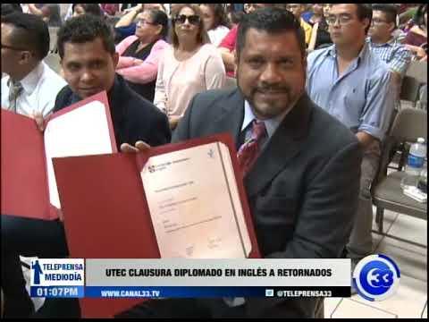 UTEC clausura diplomado en inglés a retornados