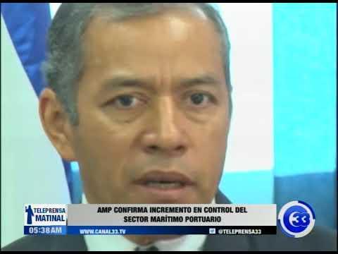 AMP confirma incremento en control del sector marítimo portuario