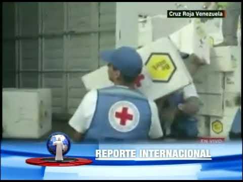 Ayuda humanitaria llega a Venezuela