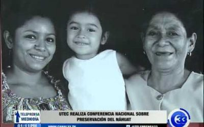 UTEC realiza conferencia nacional sobre preservación del nahuat