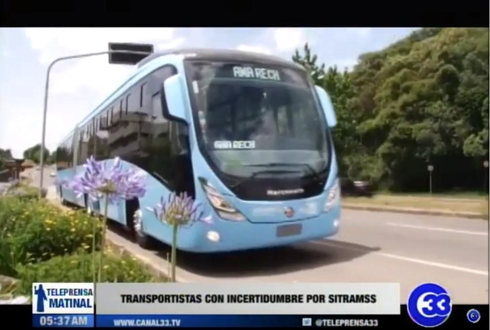 Transportistas con incertidumbre por SITRAMSS