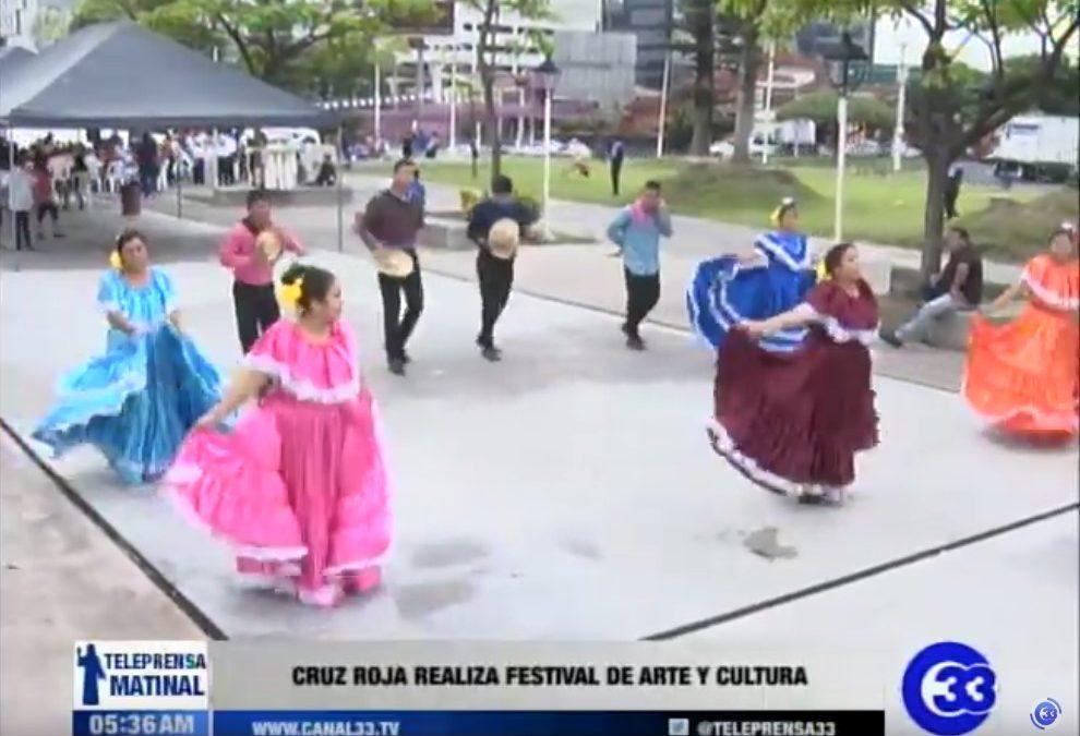 Cruz Roja Salvadoreña realiza festival de arte y cultura