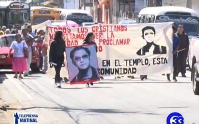 Marchan contra una nueva Ley de Amnistía