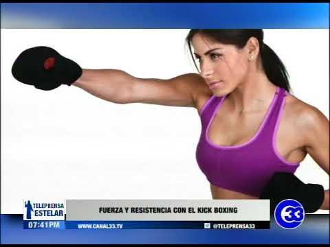 Fuerza y resistencia con el Kick Boxing