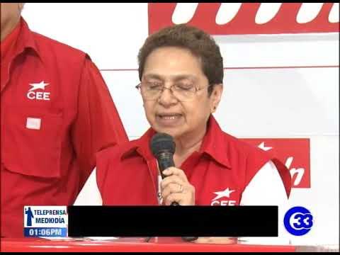 Comisión del FMLN lista para las internas del domingo