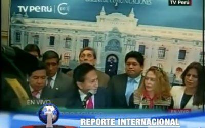 Expresidente peruano detenido en Estados Unidos.