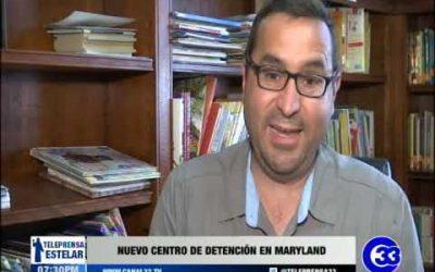 Nuevo centro de detención en Maryland